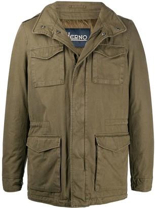 Herno Padded Military Jacket