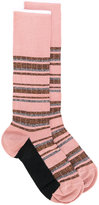 Marni striped glitter socks
