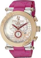 Mulco Women's MW3-13403-523 Era Analog Display Swiss Quartz Purple Watch
