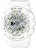Casio BA110GA-7A1 Baby-G Duo Gold Accent Watch