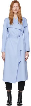 Mackage Blue Wool Mai Coat