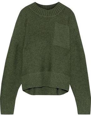 Iris & Ink Tait Textured-wool Sweater