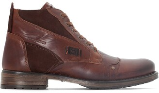 Redskins Yvori Leather Ankle Boots