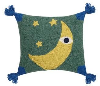 Lulu Makers Collective Justina Blakeney Tassels Wool Lumbar Pillow Makers Collective
