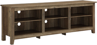 Hewson 70In Rustic Wood Tv Stand