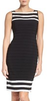 Adrianna Papell Women's Jersey Sheath Dress