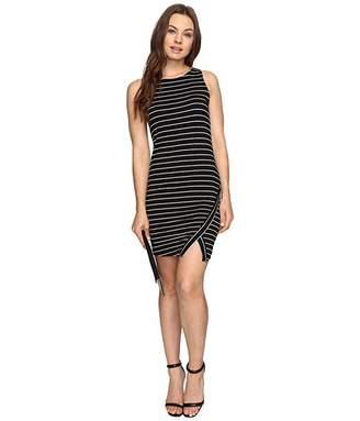 Kensie Lightweight Viscose Spandex Dress and Side Slit KS6K7219