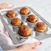 Sur La Table Platinum Professional Popover Pan, Six Count