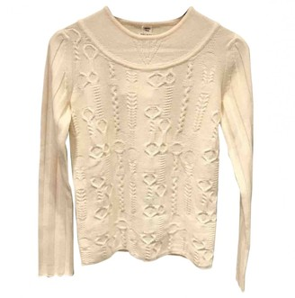 Hermes White Cashmere Knitwear for Women