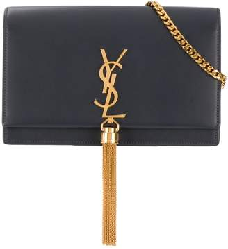 Saint Laurent Kate tassel chain wallet