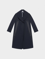 DKNY Pure Trench Coat With Detachable Wool Vest