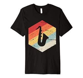 IDEA Saxophone Gift Retro Saxophone Premium T-Shirt