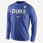 Nike College Practice Football (Duke) Men's Long Sleeve Top