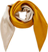 Donni Charm Darling Silk-Charmeuse Scarf