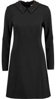 MICHAEL Michael Kors Crystal-Embellished Crepe Mini Dress
