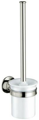 Hansgrohe Axor Toilet Brush Holder, Polished Nickel