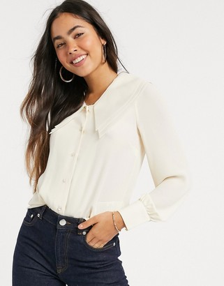 Y.A.S oversized collar blouse