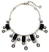 Ben-Amun Modern Pearl Statement Collar Necklace