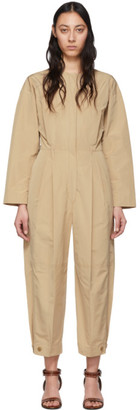 Givenchy Beige Cargo Jumpsuit