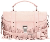 Proenza Schouler Ps1 Tiny Fringed Suede Shoulder Bag