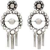 Dannijo hoop earrings with tassels