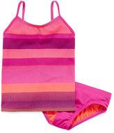 Nike 2-pc. Striped Tankini Swimsuit - Girls 7-16