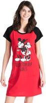 Disney Disney's Mickey & Minnie Mouse Juniors' Pajamas: Graphic Sleep Shirt