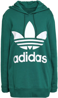 adidas Oversized Printed French Cotton-terry Hoodie