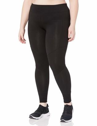 Andrew Marc Women's Long Legging with Rib Plus Size