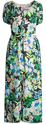 Kate Spade Full Bloom Voile Dress