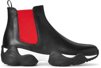 Ralph Lauren Gradey Calfskin Boot