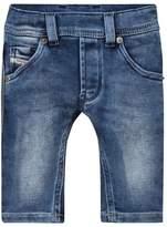 Diesel Blue Denim Washed Jeans