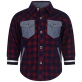 Timberland TimberlandBaby Boys Red Check & Chambray Shirt