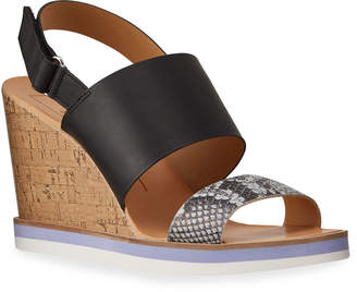 Dolce Vita Lana Cork Wedge Espadrille Sandals