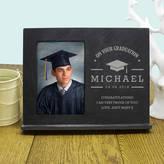 TheLittleBoysRoom Personalised 'On Your Graduation' Slate Frame