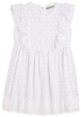 Ermanno Scervino Broderie Anglaise Dress (4-16 Years)