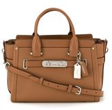 Coach small 'Swagger 27' tote - women - Leather - One Size