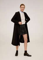 MANGO Zip miniskirt black - XS - Women