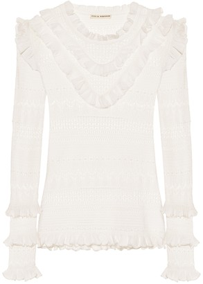 Ulla Johnson Austen cotton-blend sweater