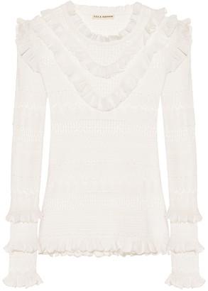 Ulla Johnson Austen cotton-blend sweater