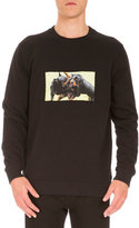 Givenchy Cuban-Fit Rottweiler Sweatshirt, Black