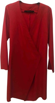 FEDERICA TOSI Red Wool Dress for Women