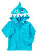 Fleece Baby Shark Knit Hoodie