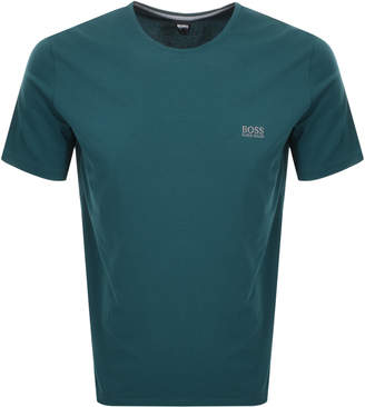 HUGO BOSS Boss Business Crew Neck T Shirt Green