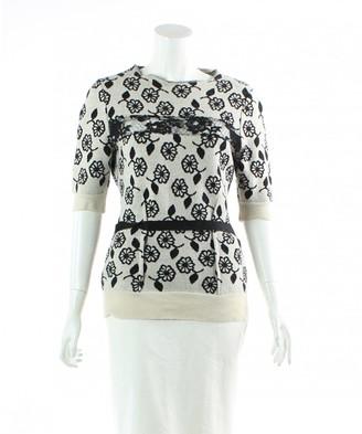 Nina Ricci Ecru Wool Knitwear