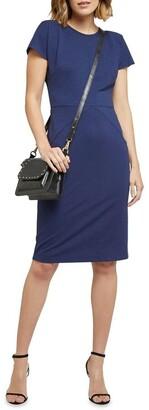 Oxford Magnolia Ponti Zip Dress