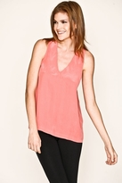 Joie Edam Silk Tank in Flamingo