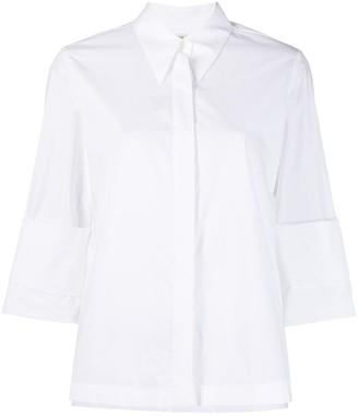 Odeeh Double Turn-Up Sleeve Shirt