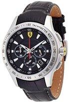 Ferrari Men's 0830039 Scuderia Analog Display Quartz Black Watch