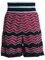 M Missoni Jacquard-Knit Shorts